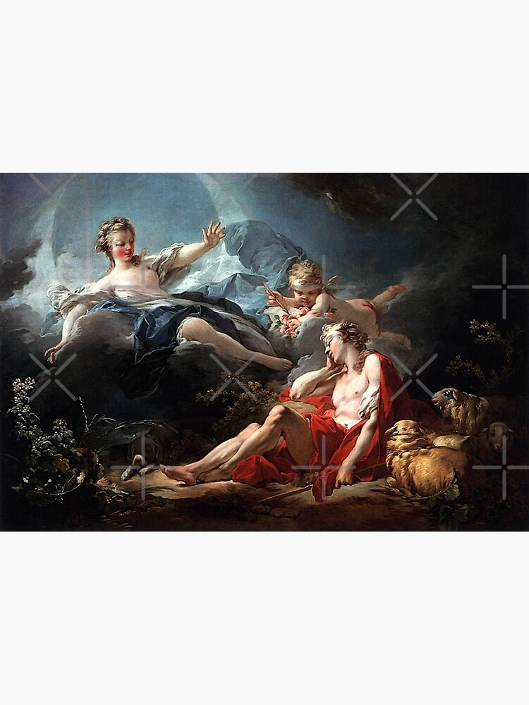 Luca Giordano - Diana and Endymion by IlaLub