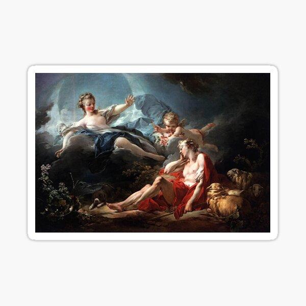 Luca Giordano - Diana and Endymion Sticker