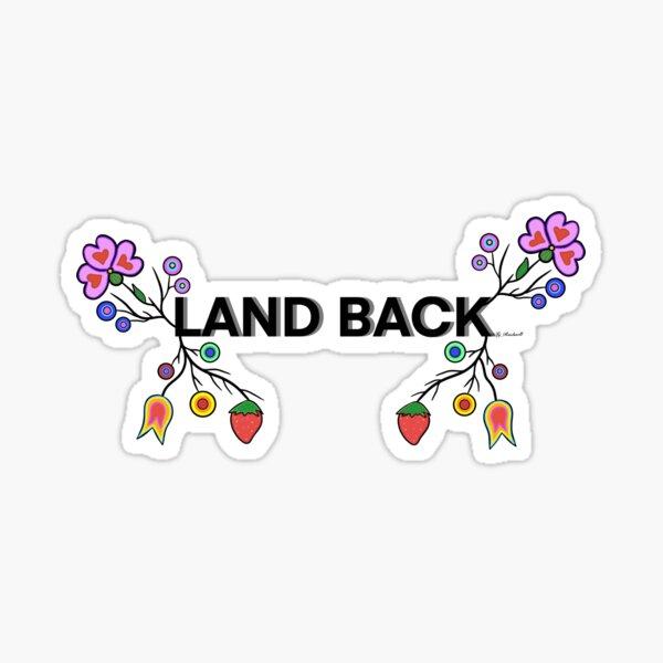LAND BACK DESIGN  Sticker