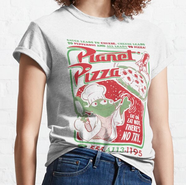 planet pizza Classic T-Shirt