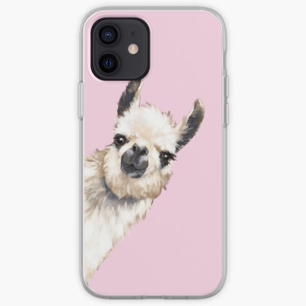 Sneaky Llama iPhone Soft Case
