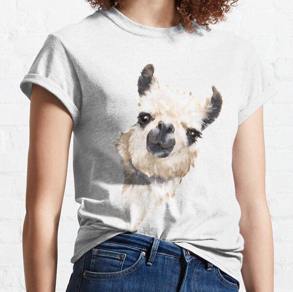 Llama furtiva Camiseta clásica