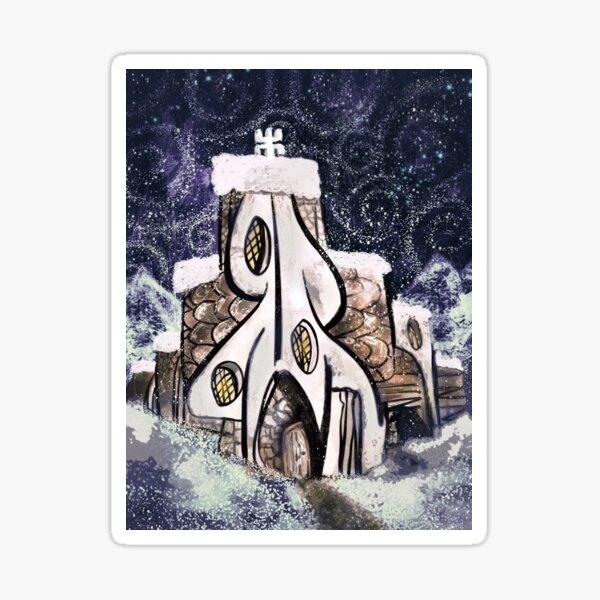 The Winter Monastery Sticker