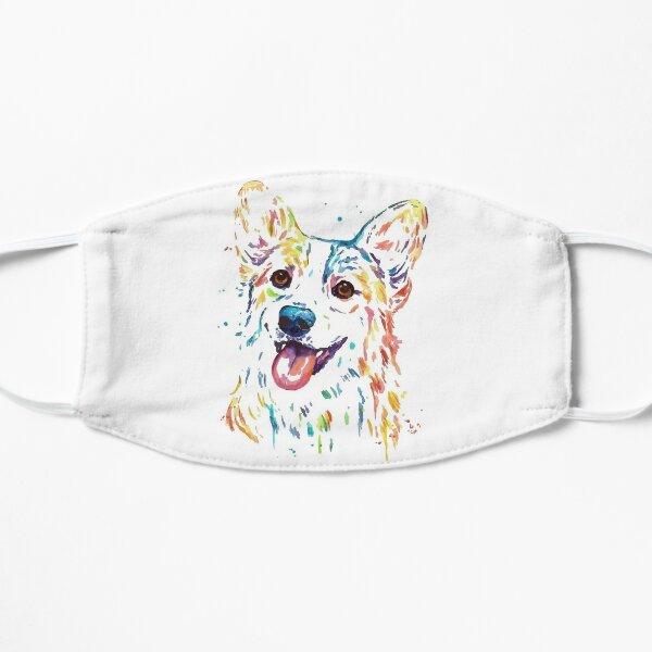 Corgi Dog watercolor  Mask