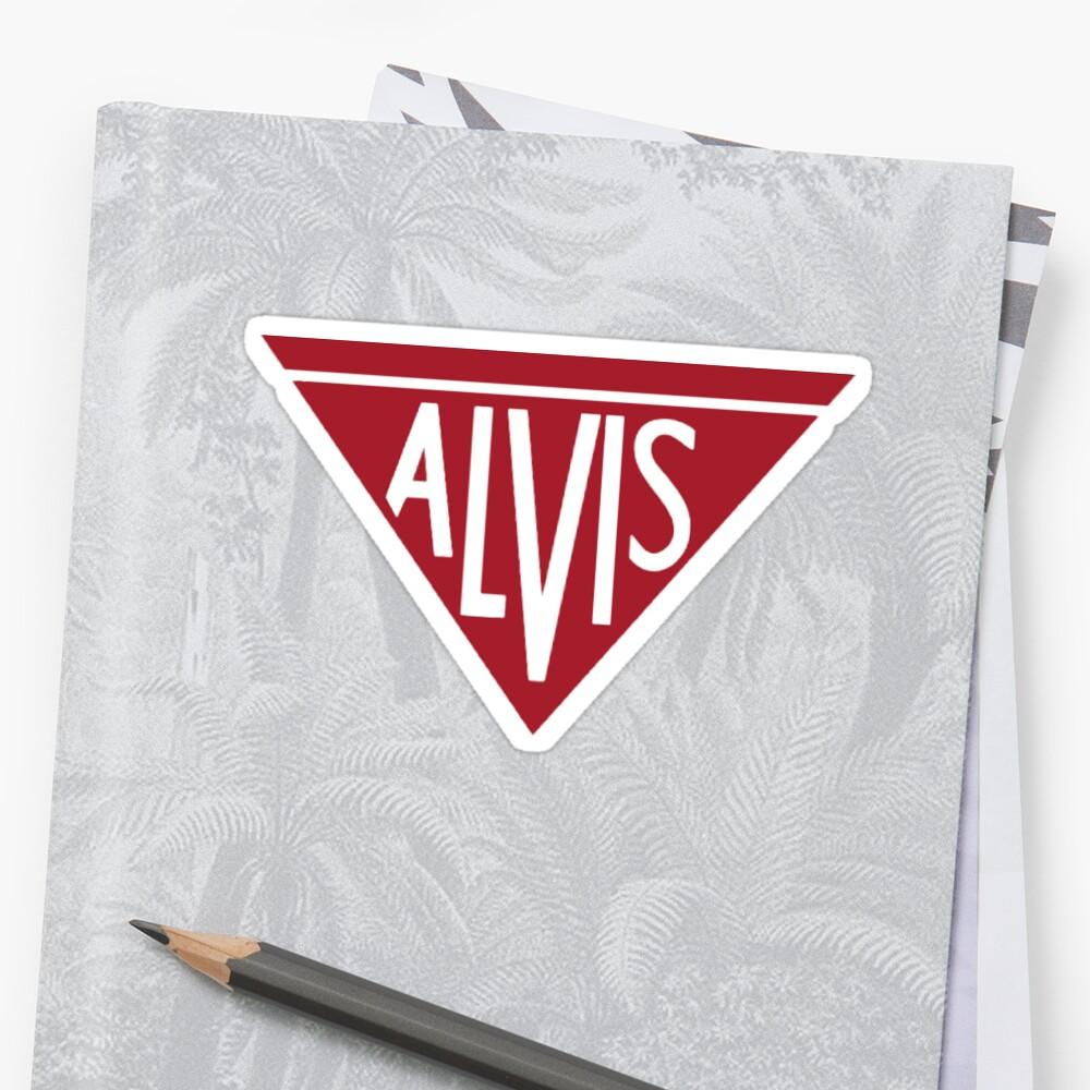 Alvis Logo Sticker