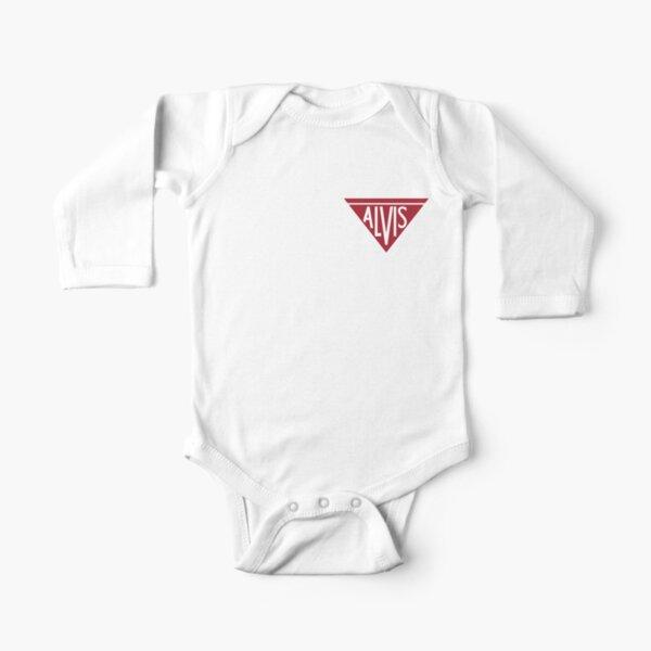 Alvis Logo Long Sleeve Baby One-Piece