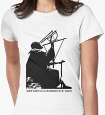 Galileo Galilei - Where senses fail us Women's Fitted T-Shirt