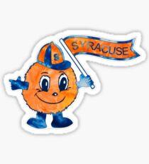 Tie-Dye Otto the Orange Sticker