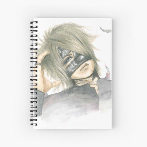 Watercolor Reita Spiral Notebook
