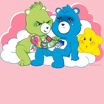 Care Bears Ink by johnperlock
