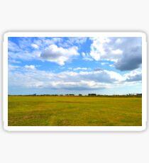 Empty Field Sticker