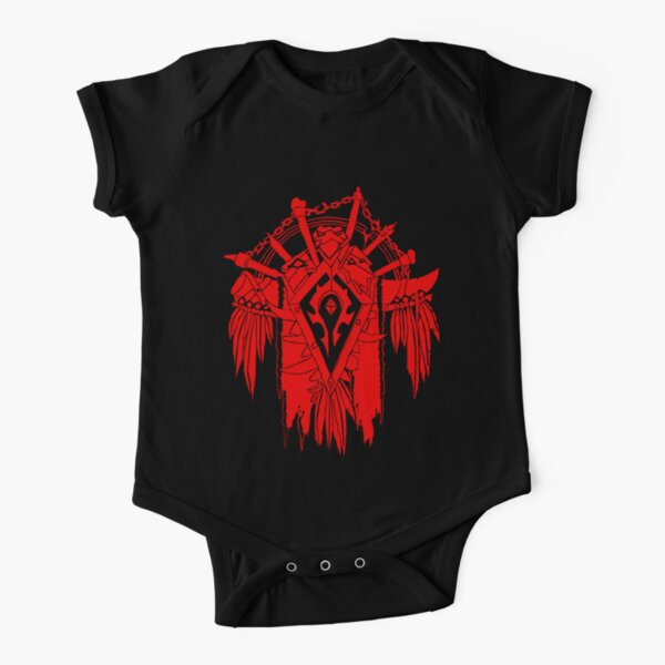 Horde - World of Warcraft Body manches courtes