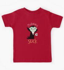 Camiseta para niños Mañanas chupe
