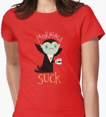 Camiseta entallada para mujer Mañanas chupe