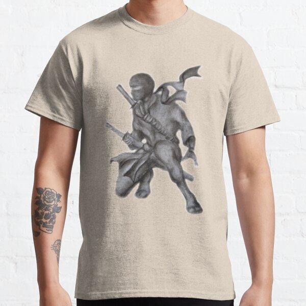 Crouching Ninja  Classic T-Shirt