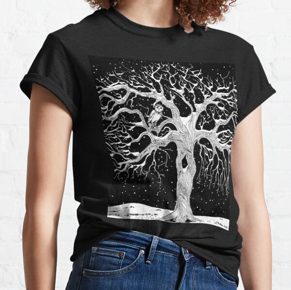 Midwinter (black and white) Classic T-Shirt