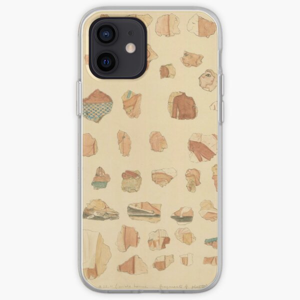 Painted plaster fragments from Amarna, 1930s iPhone Soft Case