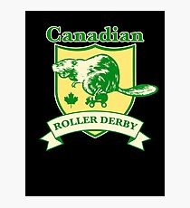 Canadian Roller Derby Photographic Print
