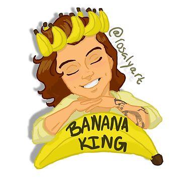 Haz the Banana King by jeanbeanart