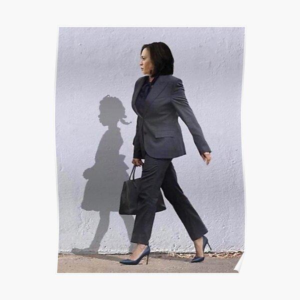 The Walking Hope, Madam Vice President - Kamala Harris and Shadow  Poster