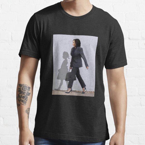 The Walking Hope, Madam Vice President - Kamala Harris and Shadow  Essential T-Shirt