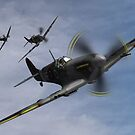 Spitfire Patrol by MortemVetus