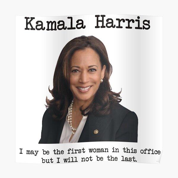 Kamala Harris, vice president Poster