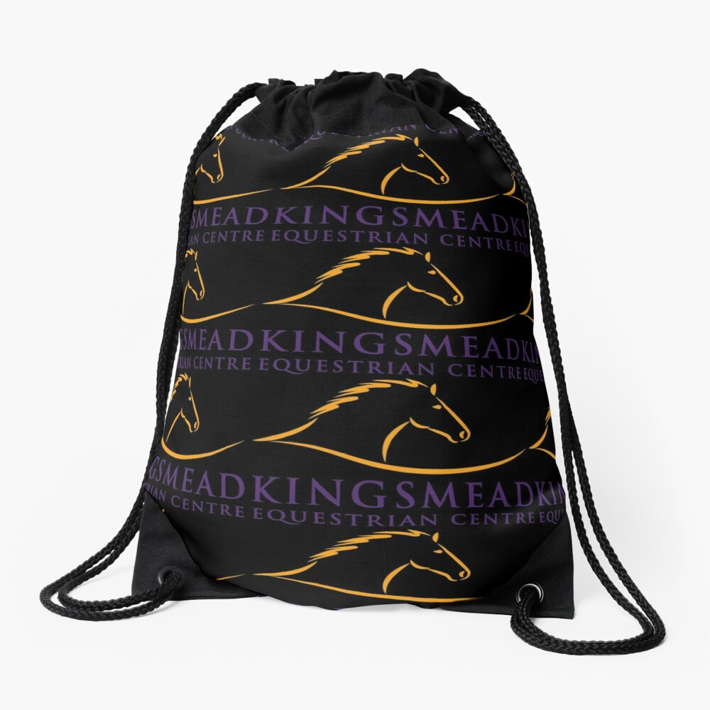 Kingsmead Equestrian Merchandise Drawstring Bag