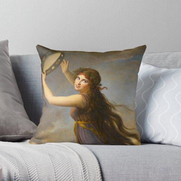 Lady Hamilton by Elisabeth Vigee Le Brun  Throw Pillow