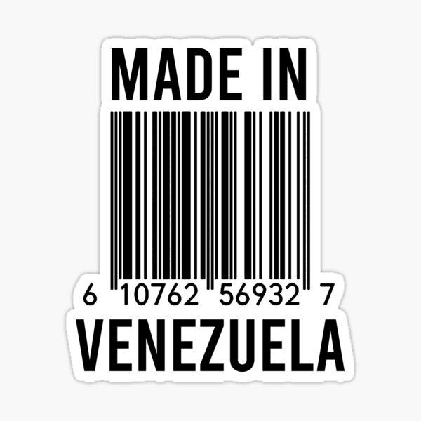 Hecho en Venezuela Pegatina