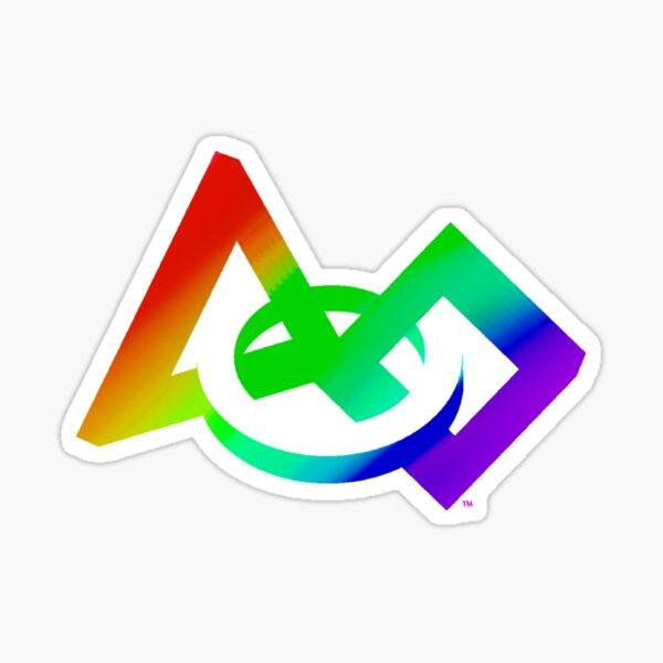 Gay/Lesbian Flag - FIRST Pride Sticker