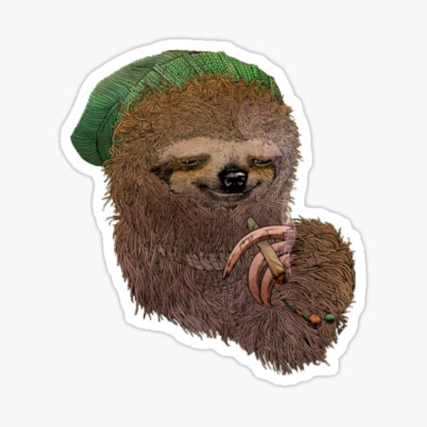 Stoner sloth  Sticker