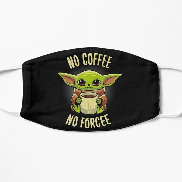 No coffee no forcee - Cute Grogu - A Clan of two Mask