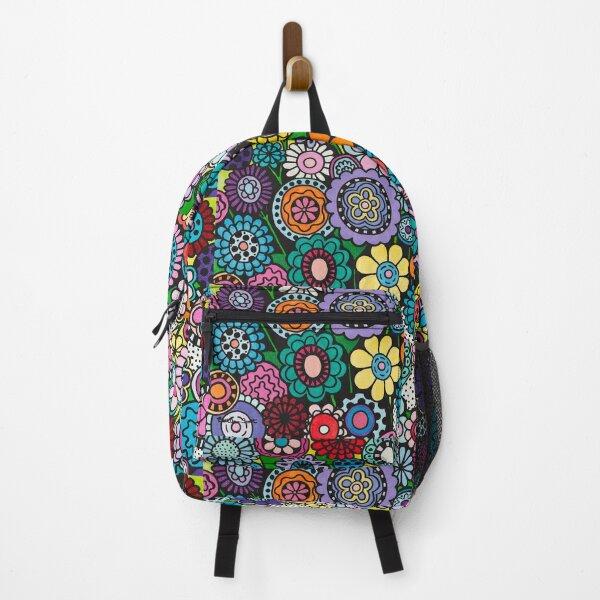 Polka Dot Bouquet Backpack