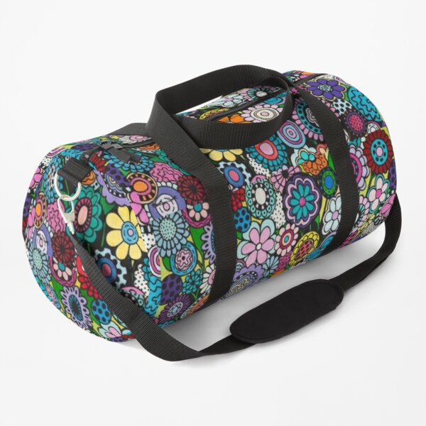 Polka Dot Bouquet Duffle Bag