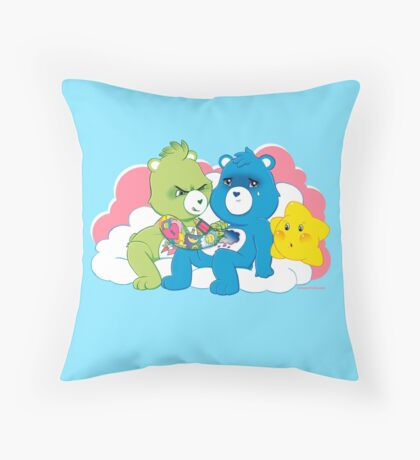 Care Bears Ink (in blue for boys) Throw Pillow