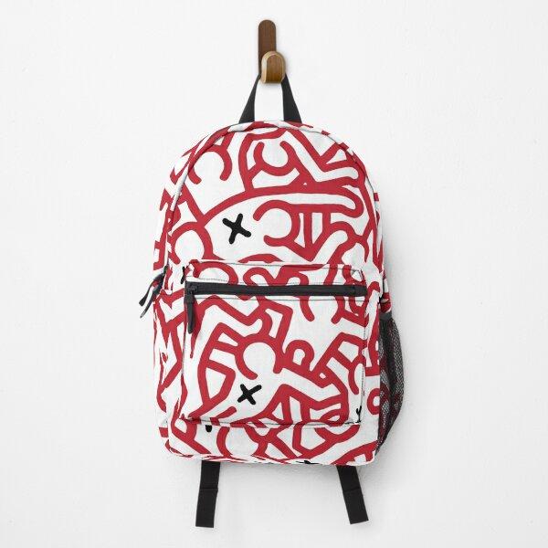 Keith Haring variation 45 Backpack
