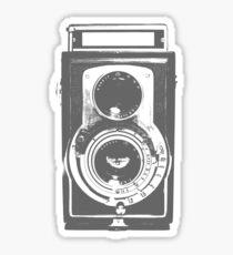 Retro-Kamera Sticker