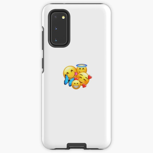 Blushing Emoji Cases For Samsung Galaxy Redbubble