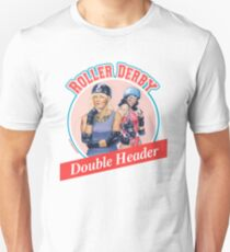 Roller Derby Double Header T-Shirt
