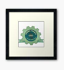 Tunnel Snakes Framed Print