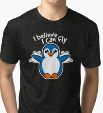 Learning to fly Tri-blend T-Shirt