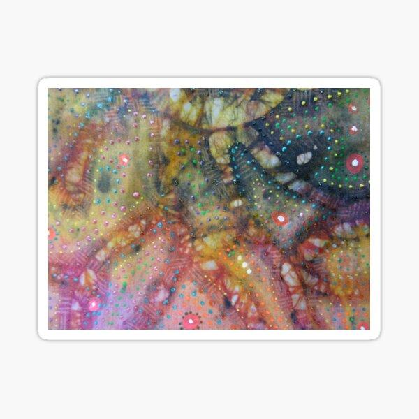 Batik Inspired Design 1 Sticker