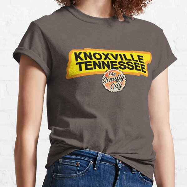 Three Rivers Scruffy City, Knoxville Tennessee! Classic T-Shirt