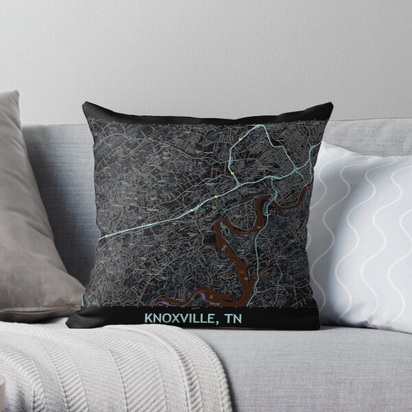 Knoxville Pillows Cushions Redbubble