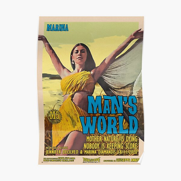 MARINA - Man's World Poster