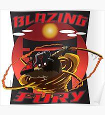 Blazing Fury Poster