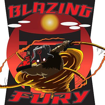 Blazing Fury by PidoBear