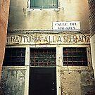"""Old """" Trattoria """" in Venice by gluca"""