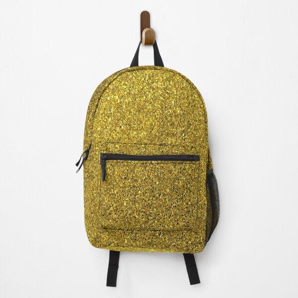 gold glitter Backpack